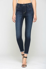 Hidden Jeans TAYLOR HIGH RISE DARK - Front cropped