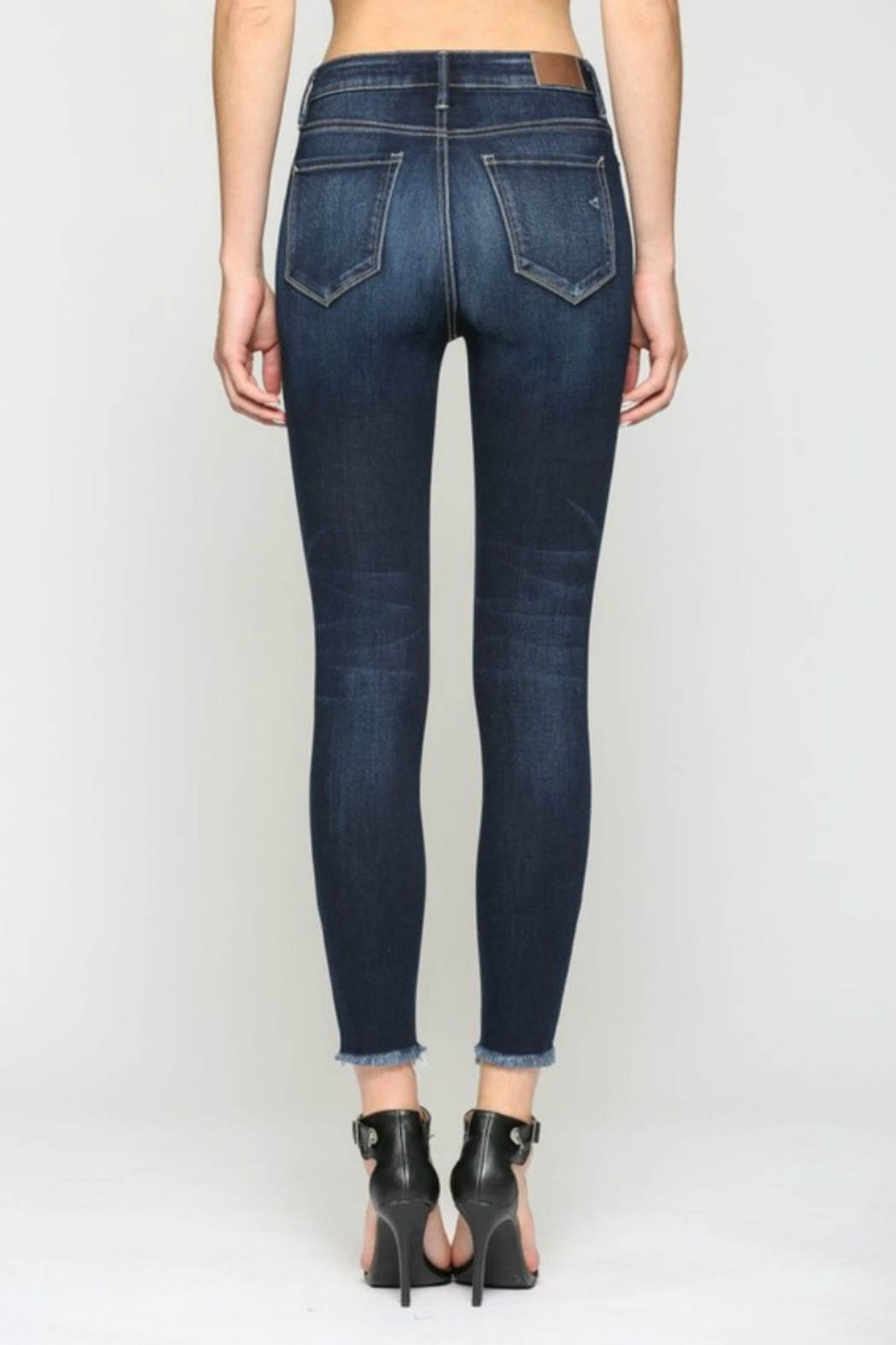 Hidden Jeans TAYLOR HIGH RISE DARK - Side Cropped Image