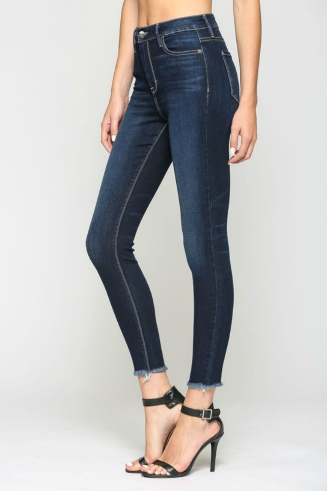 Hidden Jeans TAYLOR HIGH RISE DARK - Front Full Image