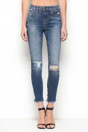 Hidden Jeans Taylor High Rise Skinny - DK - Product Mini Image