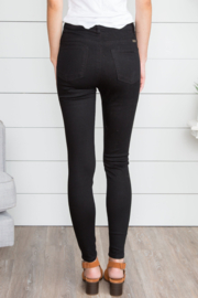 Hidden Jeans Taylor High Rise Skinny -BLK - Side cropped
