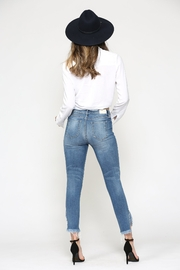 Hidden Jeans Taylor High Rise Skinny - MT - Back cropped