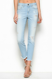 Hidden Jeans Taylor High Rise Zipper Detail Jean - Product Mini Image