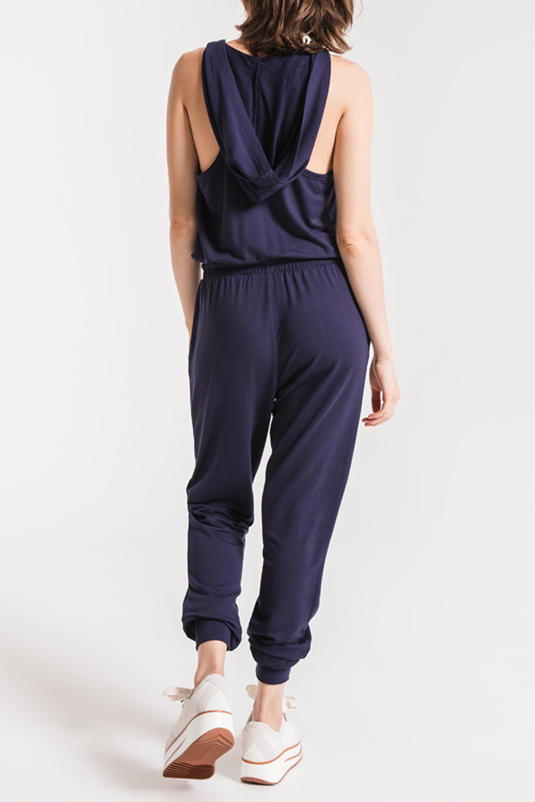 Others Follow  Taylor Hooded Jumpsuit - Front Full Image