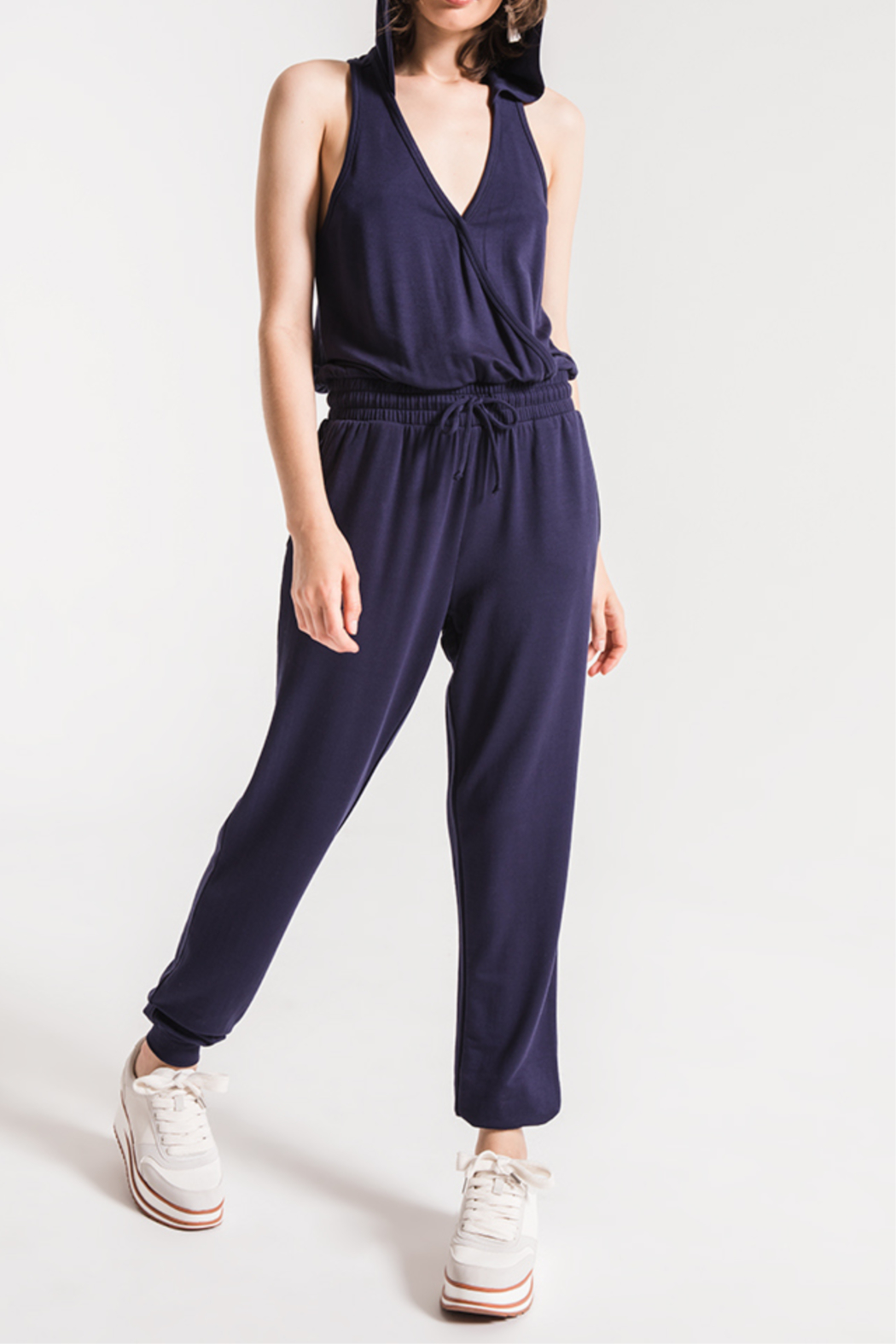Others Follow  Taylor Hooded Jumpsuit - Main Image
