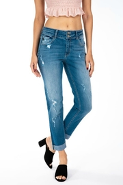 Kan Can Taylor Midrise Double Stacked - Front cropped