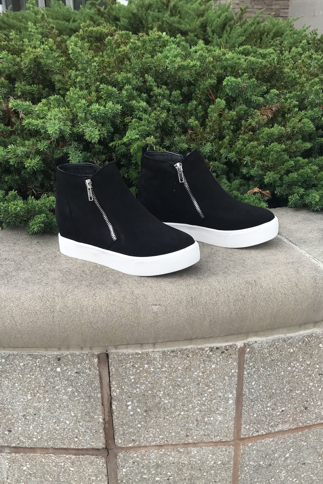 fortune dynamic Taylor Sneaker Wedges - Main Image