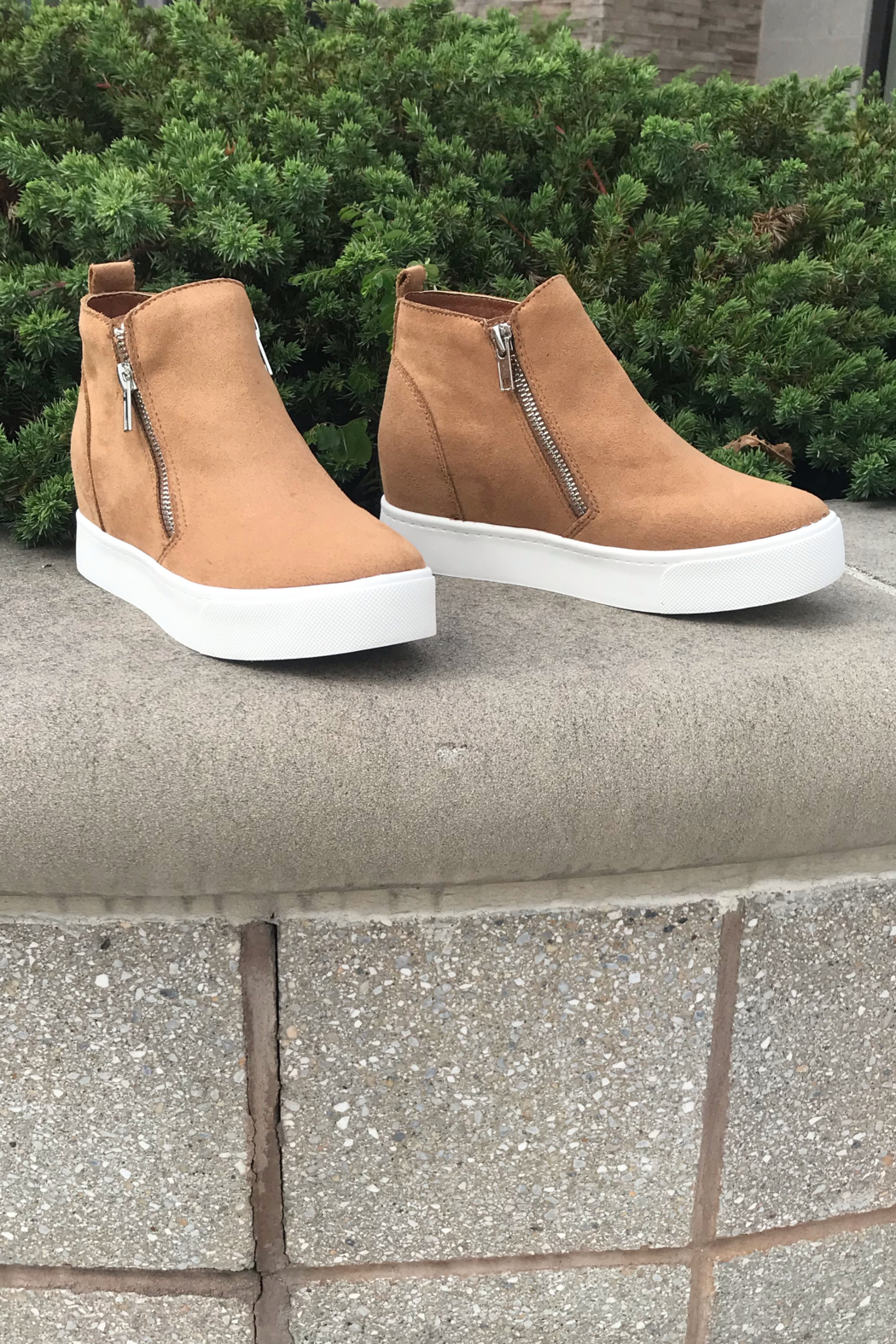 fortune dynamic Taylor Sneaker Wedges - Front Cropped Image