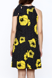 Taylor Floral Dress - Back cropped