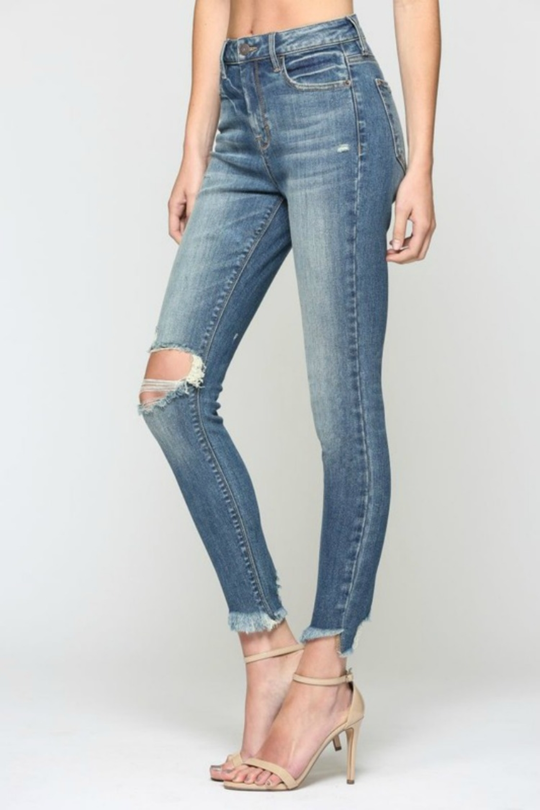 Hidden Jeans TAYOLOR HIGH RISE - Side Cropped Image