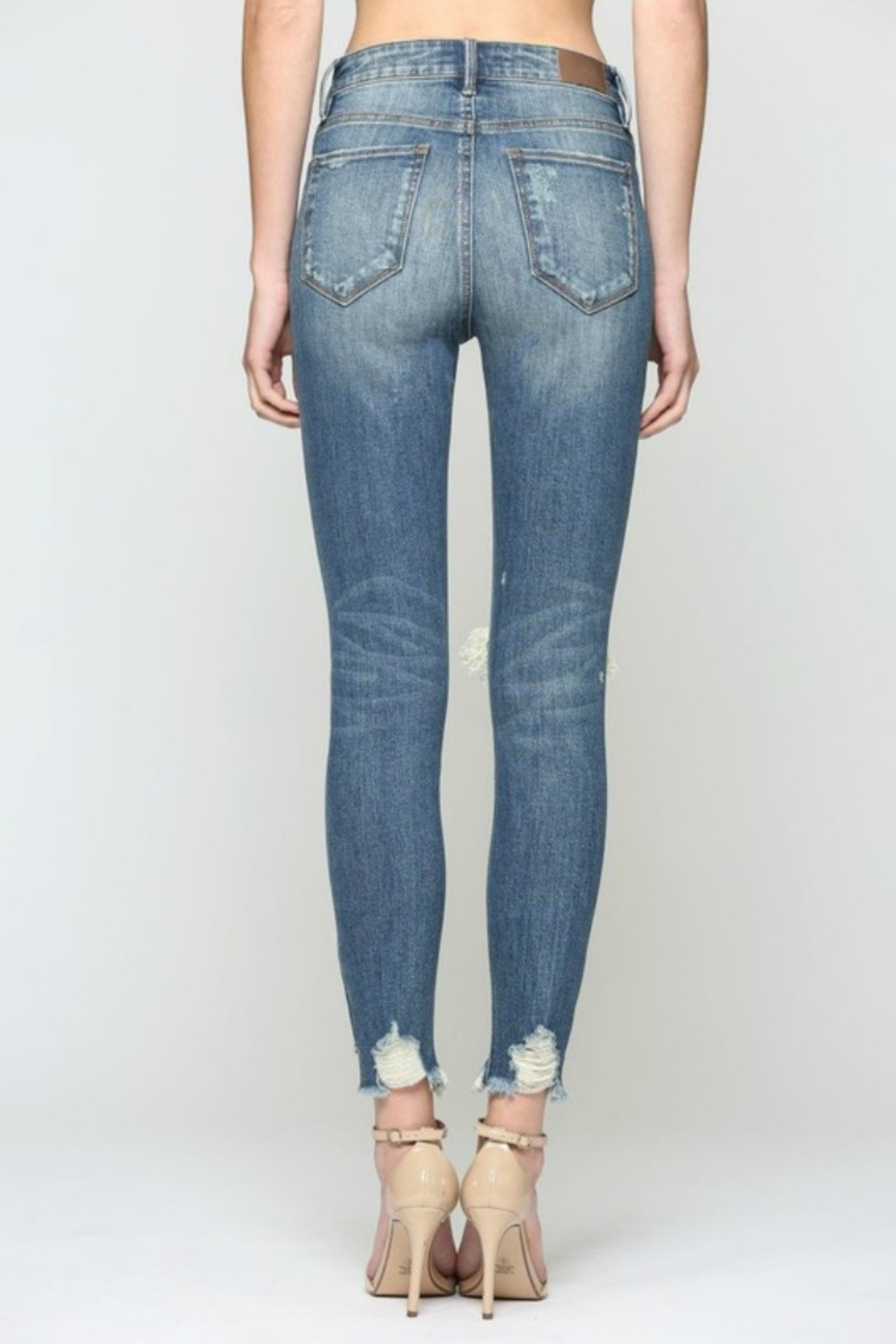 Hidden Jeans TAYOLOR HIGH RISE - Back Cropped Image