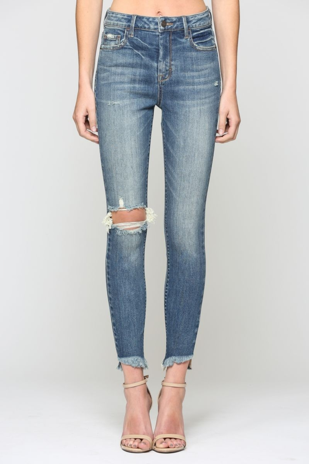 Hidden Jeans TAYOLOR HIGH RISE - Front Full Image