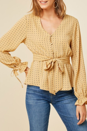 Hayden Los Angeles Taytum Blouse - Product Mini Image