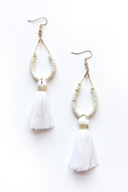 Chains by Lauren Tassel Statement Earrings - Product Mini Image