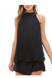 TCEC Black Pleated Tank - Product Mini Image