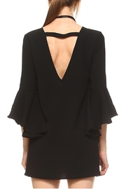 TCEC Black Trumpet Dress - Side cropped