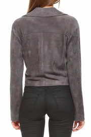 TCEC Charcoal Bomber Jacket - Front full body