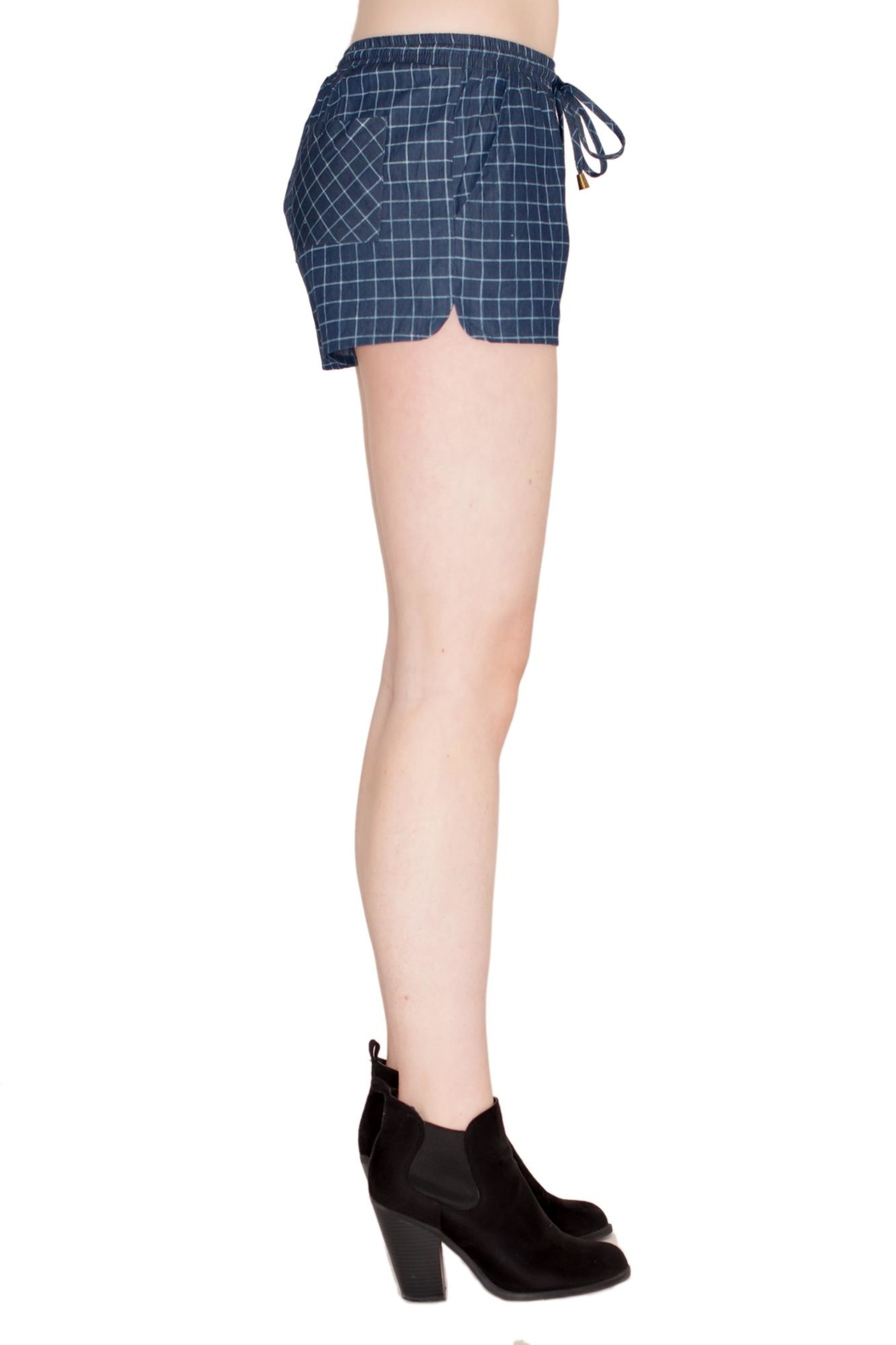 TCEC Checkered Shorts - Front Full Image