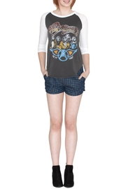 TCEC Checkered Shorts - Back cropped