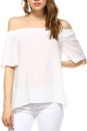 TCEC Cold Shoulder Top - Product Mini Image