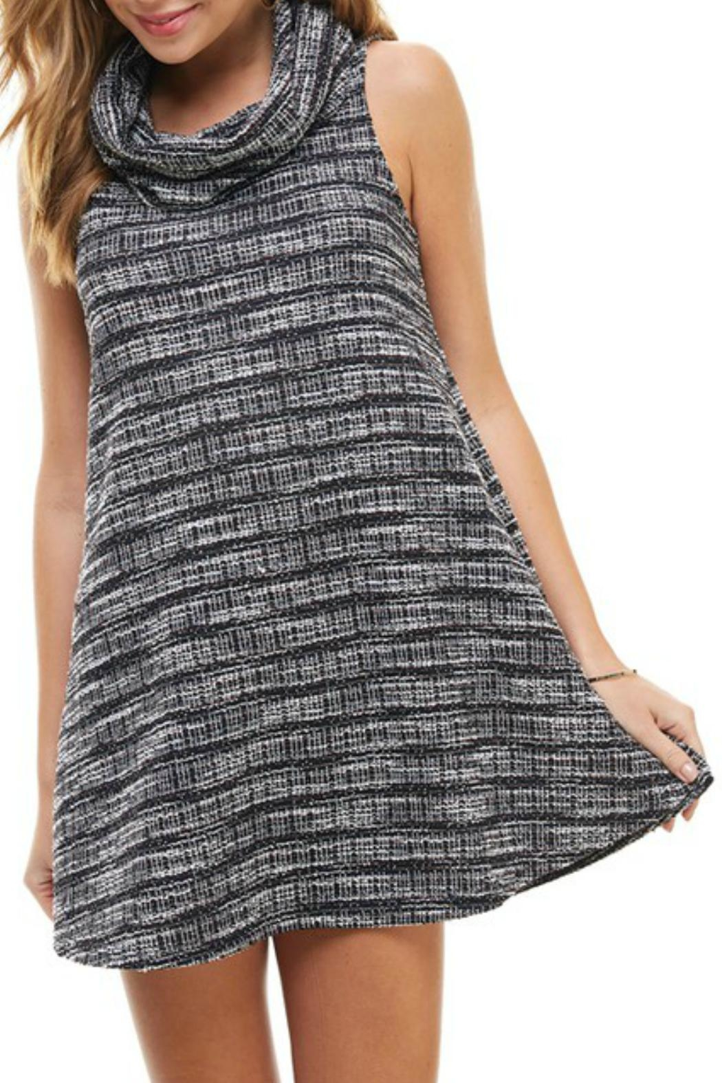 TCEC Cowl Neck Dress - Side Cropped Image