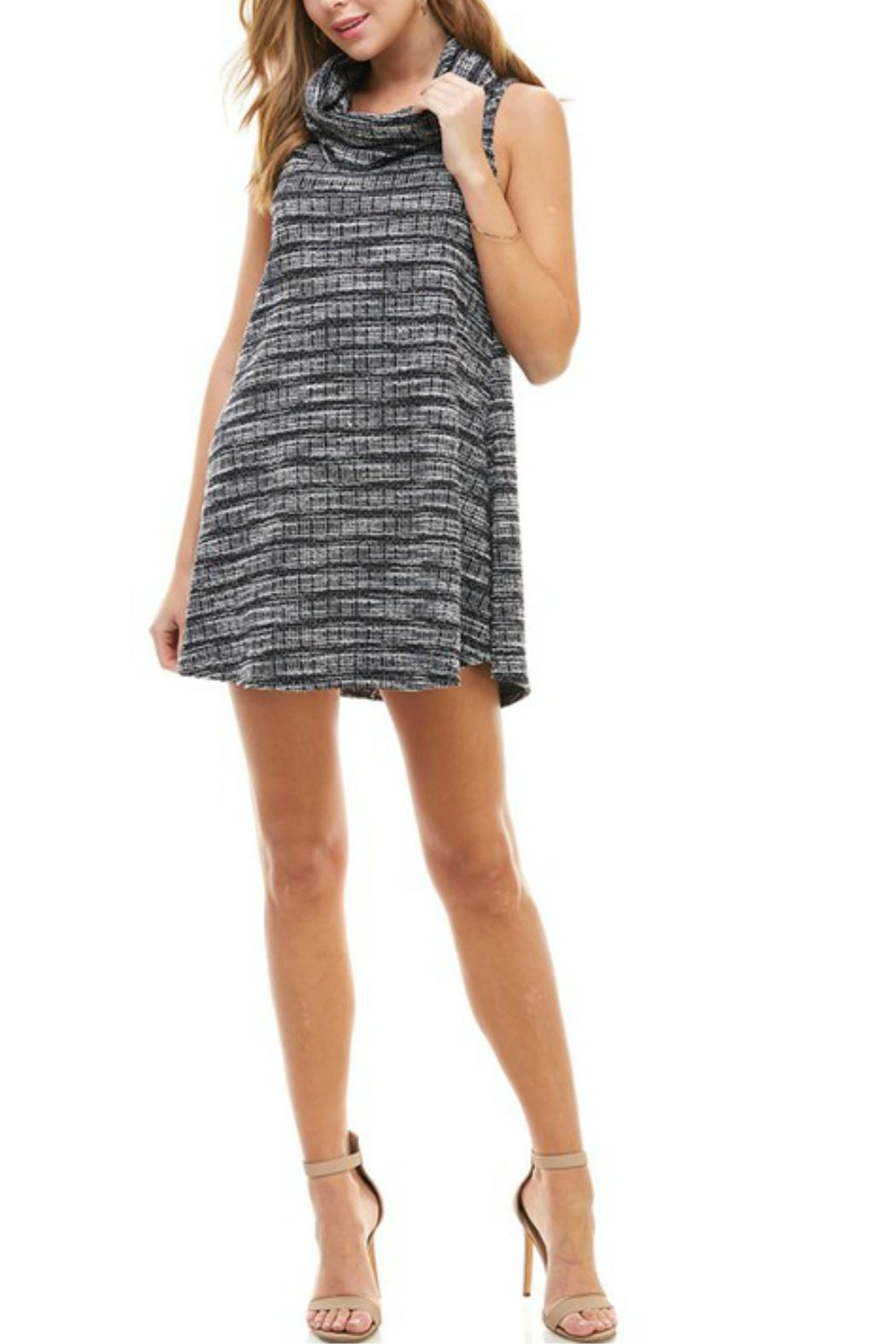 TCEC Cowl Neck Dress - Front Full Image