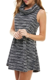 TCEC Cowl Neck Dress - Back cropped