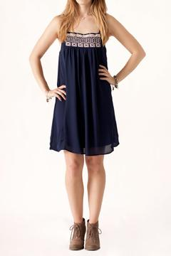 TCEC Embroidered Neckline Dress - Product List Image