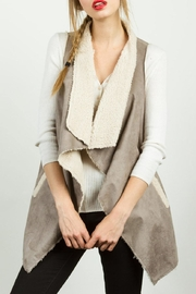 TCEC Fur Suede Vest - Product Mini Image