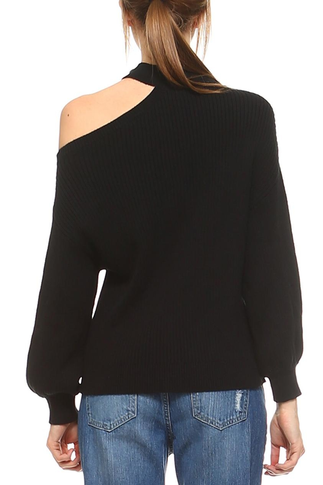 TCEC Knit Sweater Top - Side Cropped Image