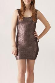 TCEC Metallic Mini Dress - Product Mini Image
