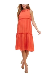 TCEC Midi Ruffle Dress - Product Mini Image