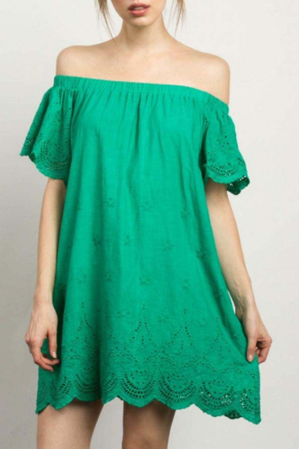 TCEC Off Shoulder Dress - Main Image
