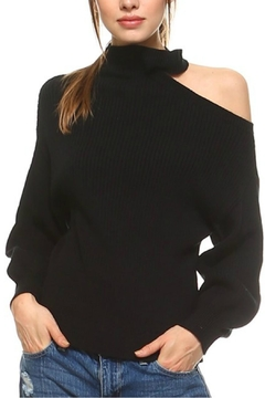 Shoptiques Product: One Shoulder Sweater