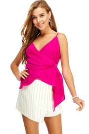 TCEC Pink Wrapped Top - Product Mini Image