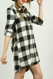TCEC Plaid Shirt Dress - Product Mini Image