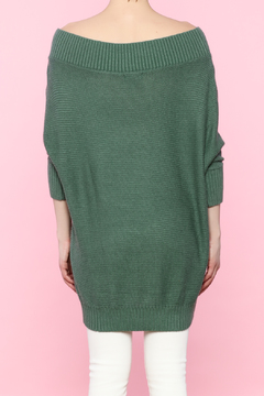 Shoptiques Product: Sage Ribbed Sweater