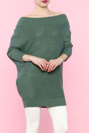 TCEC Sage Ribbed Sweater - Product Mini Image