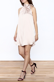 TCEC Satin Swing Dress - Front full body