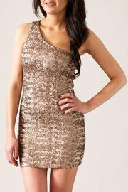TCEC Sequin Mini Dress - Product Mini Image