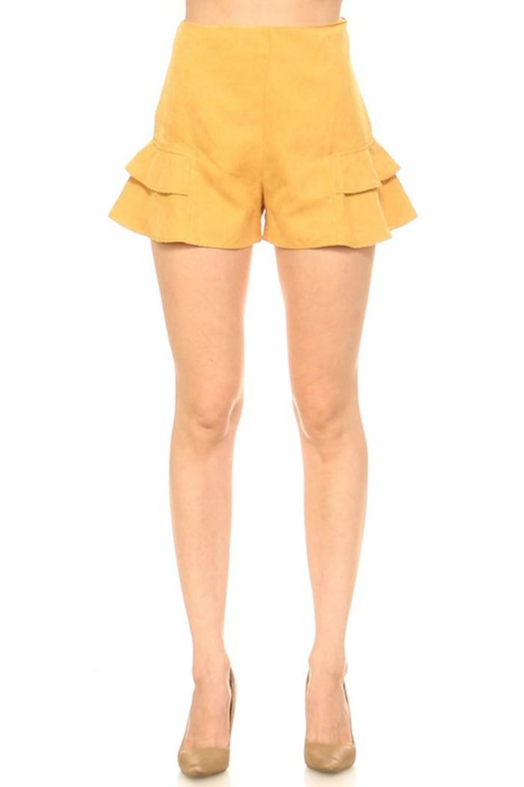 TCEC Short Ruffle - Front Cropped Image