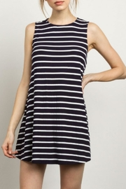 TCEC Sleeveless Striped Dress - Product Mini Image