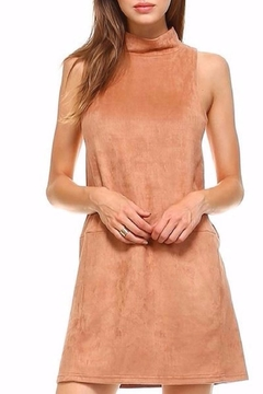 Shoptiques Product: Sleeveless Suede Dress