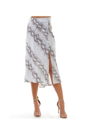 TCEC Snakeskin Silk Skirt - Product Mini Image