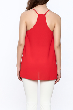 TCEC Red Spaghetti Strap Top - Alternate List Image