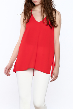 TCEC Red Spaghetti Strap Top - Product List Image