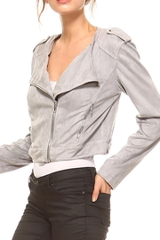 TCEC The Elle Moto-Jacket - Side cropped