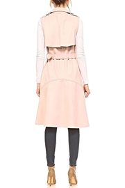TCEC The Natalia Sleeveless-Trench - Side cropped