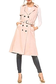 TCEC The Natalia Sleeveless-Trench - Front cropped