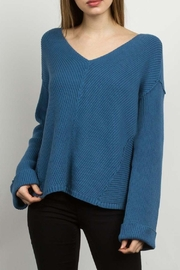 TCEC V-Neckline Sweater - Product Mini Image